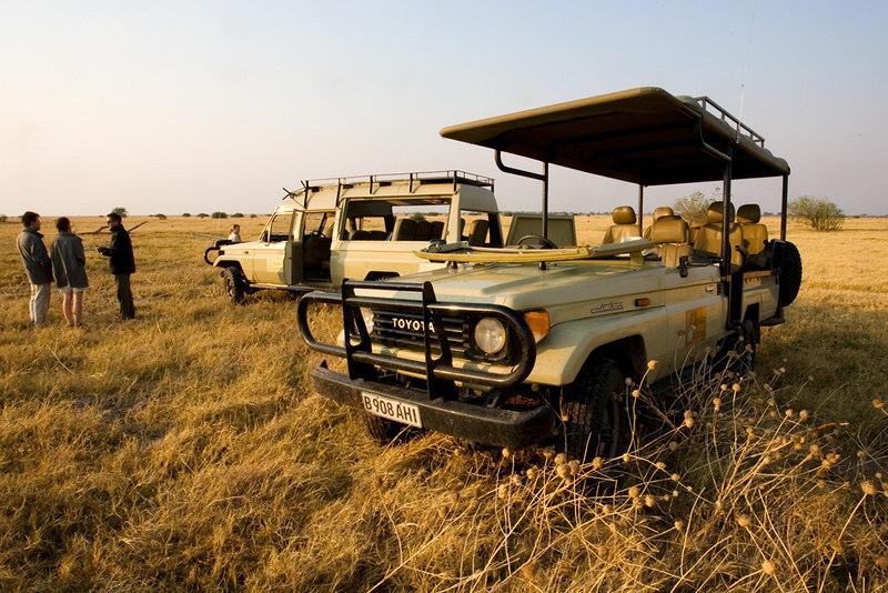 Mobile safari in the Savute marsh Botswana