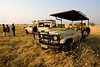 Mobile safari in the Savute marsh Botswana