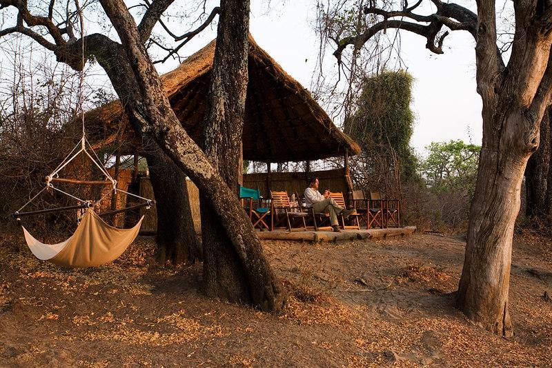 Crocodile camp South Luangwa