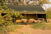 Palmwag rhino camp lounge and dining tent, Namibia
