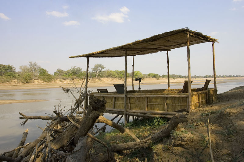 River view Kaingo camp, South Luangws, Zambia