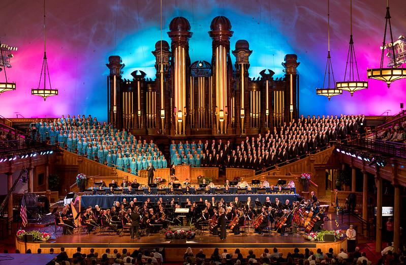 Temple Square - The Mormon Tabernacle Choir