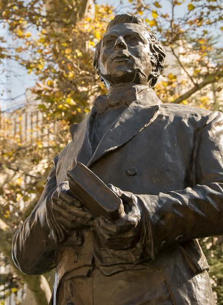Temple Square - Gardens and Statues - Joseph Smith