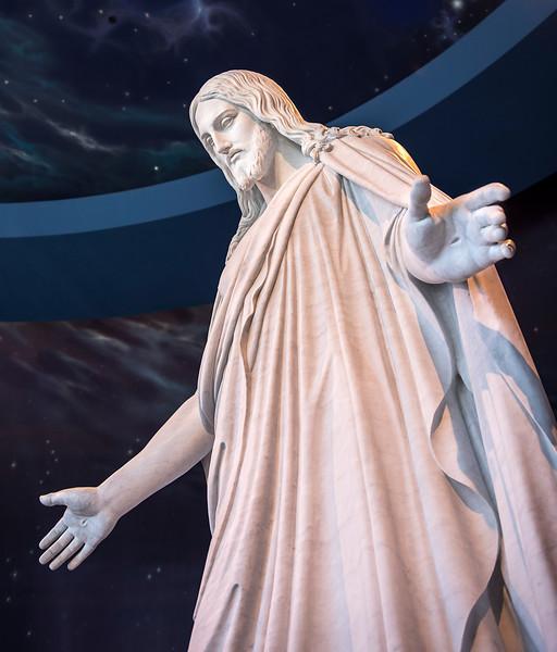 Temple Square - North Visitors' Center - Christus Statue