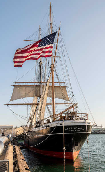 Star of India at the San Diego Embarcadero