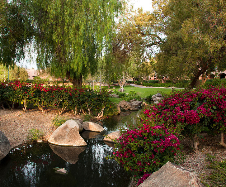 Fairmont Scottsdale - Grounds and Lagoon - SGR 2012