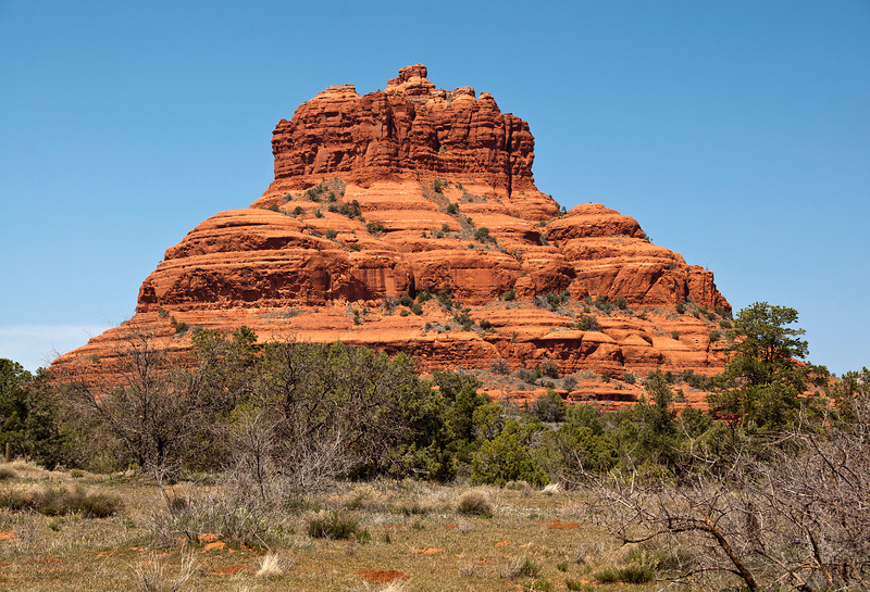 Red Rocks on the way to Sedona 2012- Bell Rock