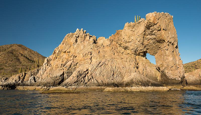 Elephant Rock - Isla Santa Catalina - Gulf of California (AKA Sea of Cortez)