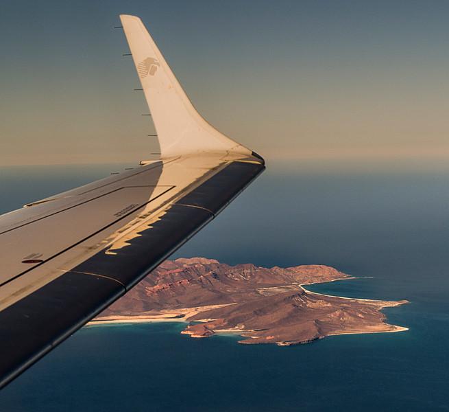 Approaching La Paz, Mexico