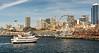Seattle Cityscape from the Bainbridge Ferry