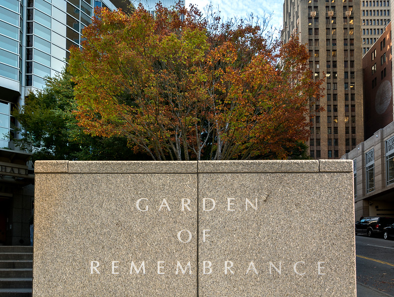 Downtown Seattle - Garden of Remembrance
