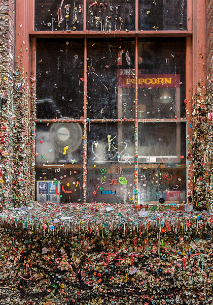 Chewing Gum Wall/Alley
