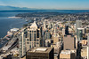 Downtown Seattle - From the Top of Columbia Center
