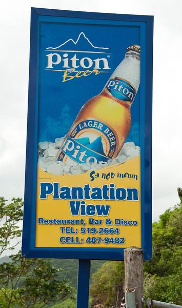 Soufriere Land & Sea Tour - Banana Plantation,Fruit Stand and Roadside Restaurant