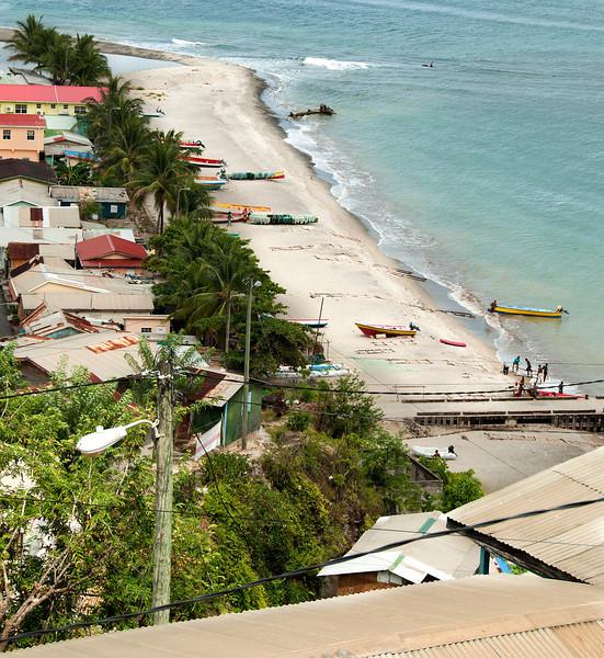 St. Lucia 2012 - Castries - Seascape - Fishing Village
