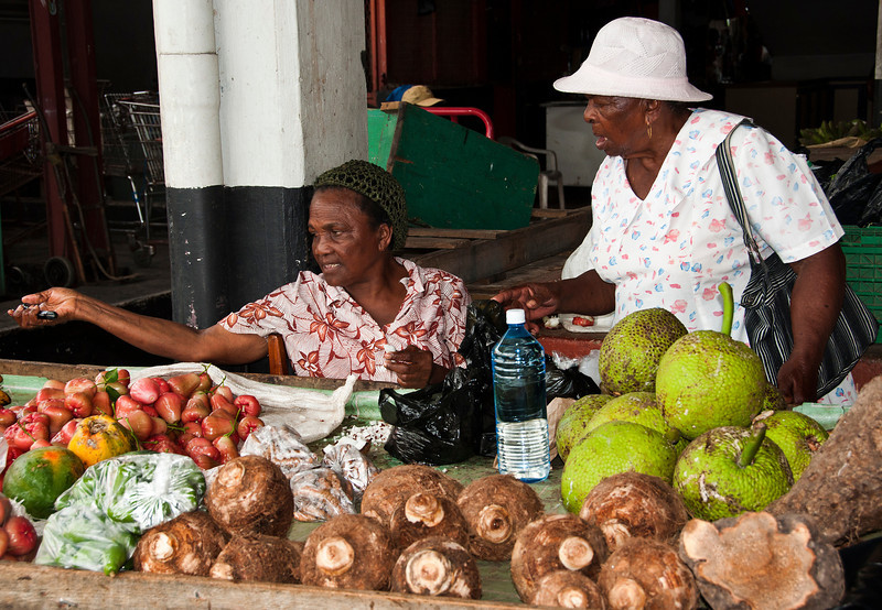 Castries - Vendor's Market