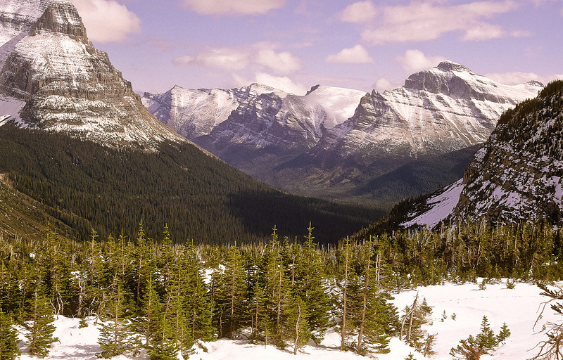 The high peaks of the Rocky Mountains will stir your soul.
