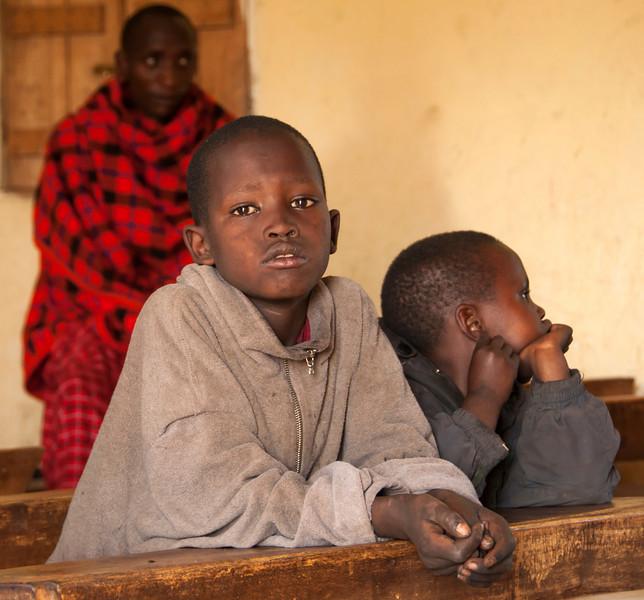 Maasai Village at Ngorongoro Crater- Maasai School