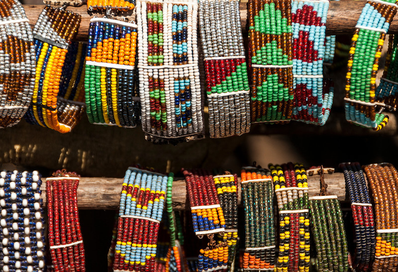 Maasai Village at Ngorongoro Crater - Maasai Jewelry