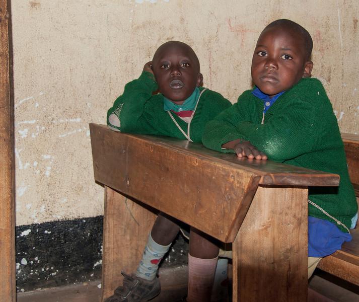 Maasai Village at Ngorongoro Crater - Maasai School
