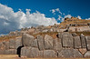 Cusco - Hilltop Temple-fortress remains of Sacsayhuaman with finely fitted stones