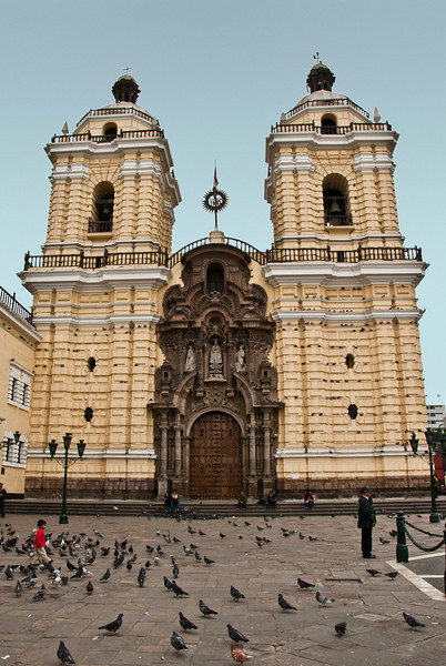 Peru - Lima - San Francisco Cathedral