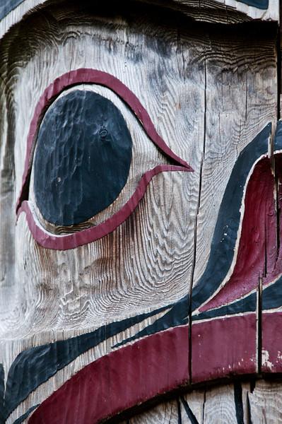 Totem at Capilano Suspension Bridge