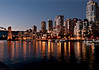 Vancouver Nightscape from Granville Island