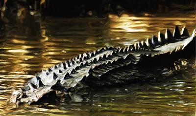 Crocodile Abstract