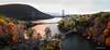 Bear Mounain Bridge sunrise panorama