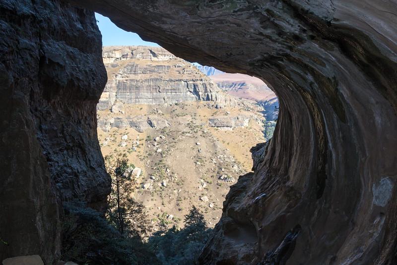 Cave, the Crack,  Northern Drakensberg, KwaZulu-Natal