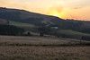 Farm Sunset in the foothills of the Drakensberg along the Midlands meader,KwaZulu-Natal