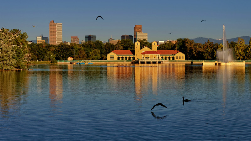 Early Morning at Denver City Park