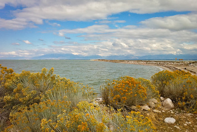 Great Salt Lake, looking east (iPhone shot)