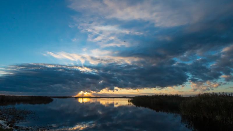 Shoveler Pond Sunset (Timelapse)