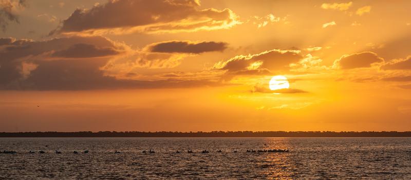 Sunrise over East Bay