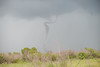 Funnel Cloud dissipating