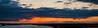 Shoveler Pond Sunset Panorama