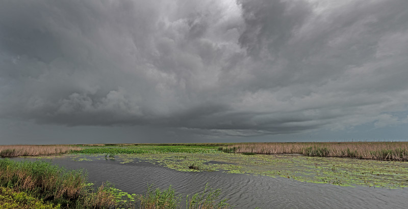 Storm Clouds over Shoveler Pond