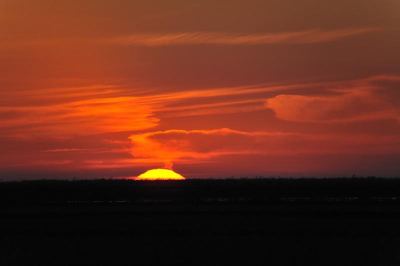 Sunset at Skillern Unit