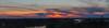 Sunset over Shoveler Pond