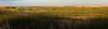 Shoveler Pond at Sunset Panorama