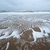 …and still another view of the beach showing sea foam.