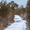 One of many trails at Back Bay NWR
