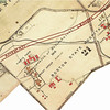 1924: Detail from Bromley atlas, showing new construction at the hospital (now owned by the Commonwealth of Massachusetts) as well as the proposed American Legion Highway, which now constitutes the northern boundary of the BNC. <em>Image accessed through The Boston Atlas/Boston Redevelopment Authority.</em>