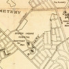 1890s: The city-owned Boston Insane Hospital began occupying the site in 1892, as indicated here in a 1907 map of Dorchester, Roxbury, and West Roxbury by G.H. Walker.  <em>Map reproduction courtesy of the Norman Leventhal Map Center, Boston Public Library.</em>