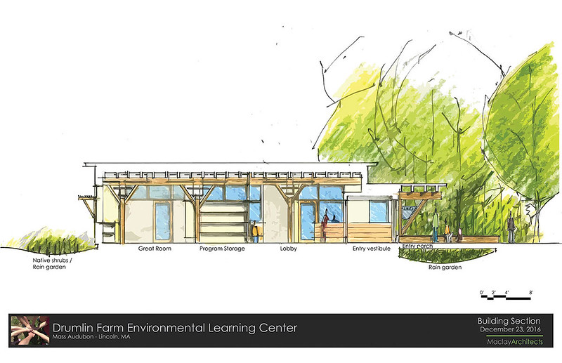 Drumlin ELC - Rendering of Building Section