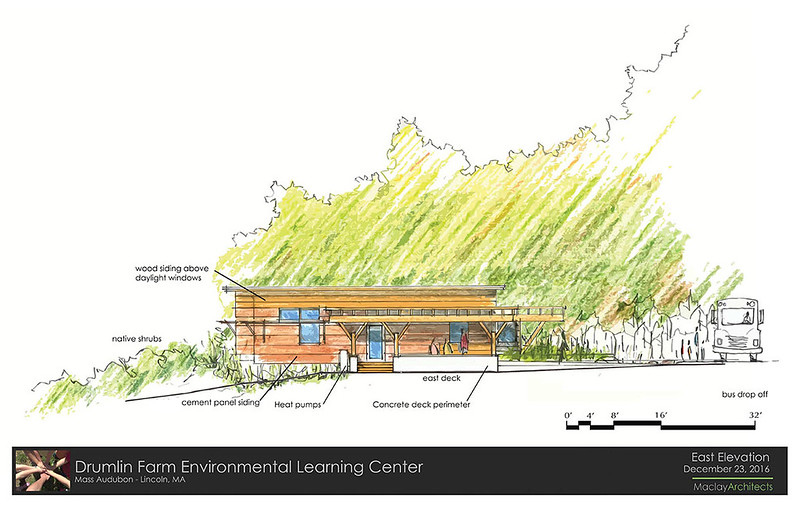 Drumlin ELC - Rendering of East Elevation