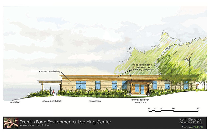 Drumlin ELC - Rendering of North Elevation
