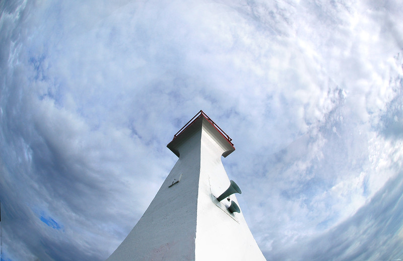 lighthouse taken with a fisheye lens<br /> <br /> <br /> Travel Stock Photography for the Nature Stock Photography Library by Professional Photographer Christina Craft